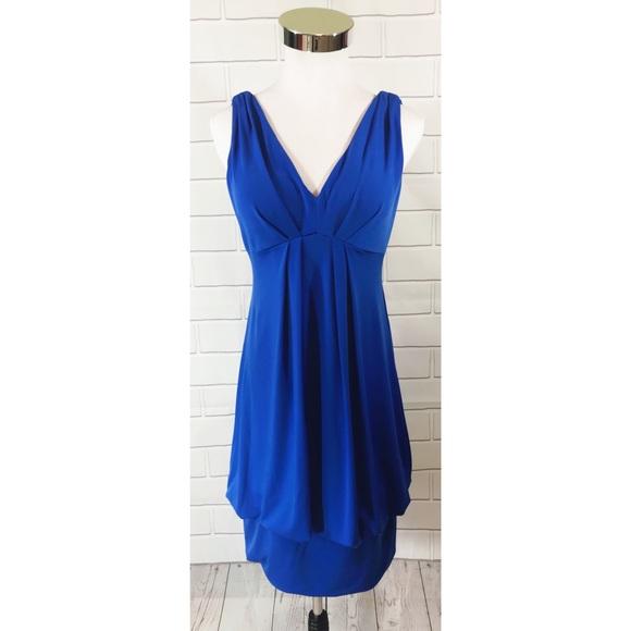 Eliza J New York Bodycon Blouson Dress